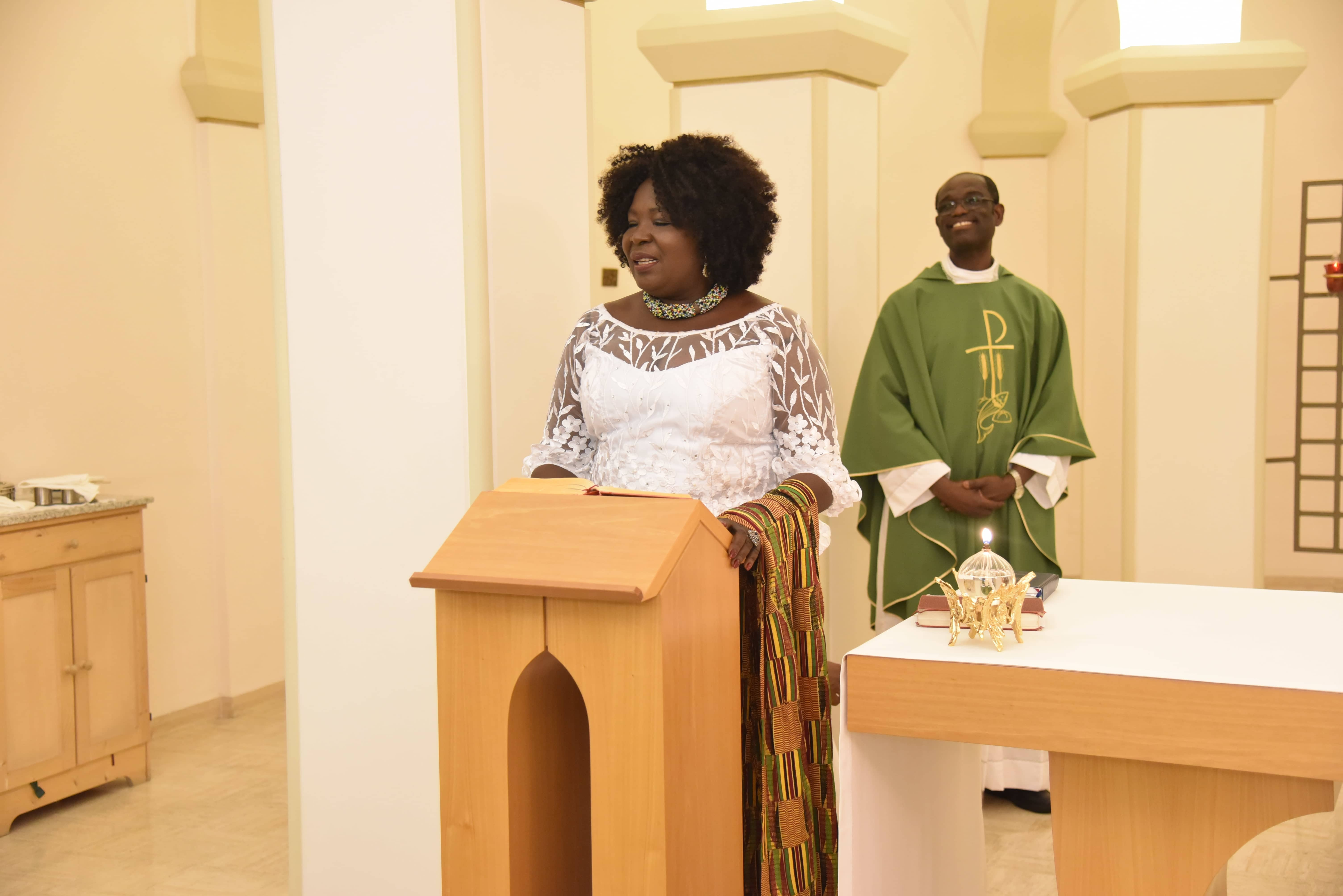 THANKSGIVING SERVICE IN HONOUR OF HER EXCELLENCY,  MS. PAULINA PATIENCE ABAYAGE, AMBASSADOR EXTRAORDINARY AND PLENIPOTENTIARY OF THE  REPUBLIC OF GHANA TO THE REPUBLIC OF ITALY