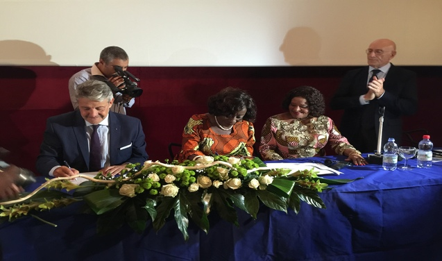 Ghana main partner of Blue Sea Land 2015: successful signing of the MOU on Cooperation in the Fishing Cluster