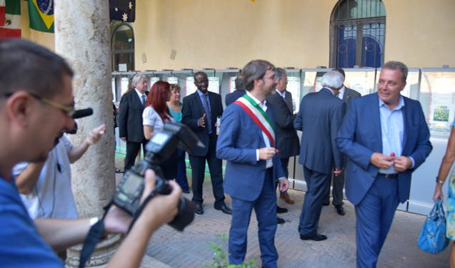 Embassy of Ghana participates at the Inauguration Ceremony of 'Rieti Cuore Piccante' – World Chilli Fair